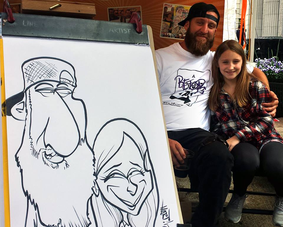 cookeville caricature artist